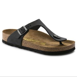 BIRKENSTOCK Gizeh Black Sandals